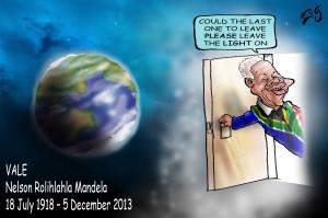 Aussie cartoonist Zeg's tribute to Mandela