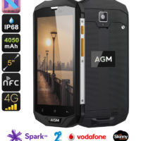 AGM M004A NZ/AU version rugged phone 4GB RAM, 64GB internal memory, Dual sims, Quad Core, running latest Android 7 'Nougat'