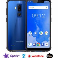 Ulefone Armor 5: 5.9 inch HD notch screen, slimline look IP68 rugged, 4GB RAM/64GB ROM, Android 8.1, Qi Wireless Charging option