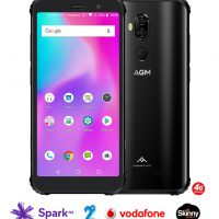 AGM X3 Rugged Phone – Android 8.1, Octa-Core Snapdragon 845 CPU, 6GB RAM, 64GB ROM, 2.8GHz, IP68, 1080p Display, 24MP Dual-Camera, Dual-Sim, 4G LTE
