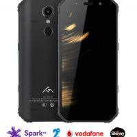 AGM A9 – 3GB RAM/32GB ROM, Snapdragon 450 1.8GHz, Dual sim, Android 8.1, Quad JBL speakers, 12MP Sony camera