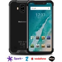 Blackview BV9600 Pro rugged phone – 6GB/128GB, Helio P60 AI chipset, IP69K, dual 4G sim, 16MP dual Samsung rear camera, Android 8.1
